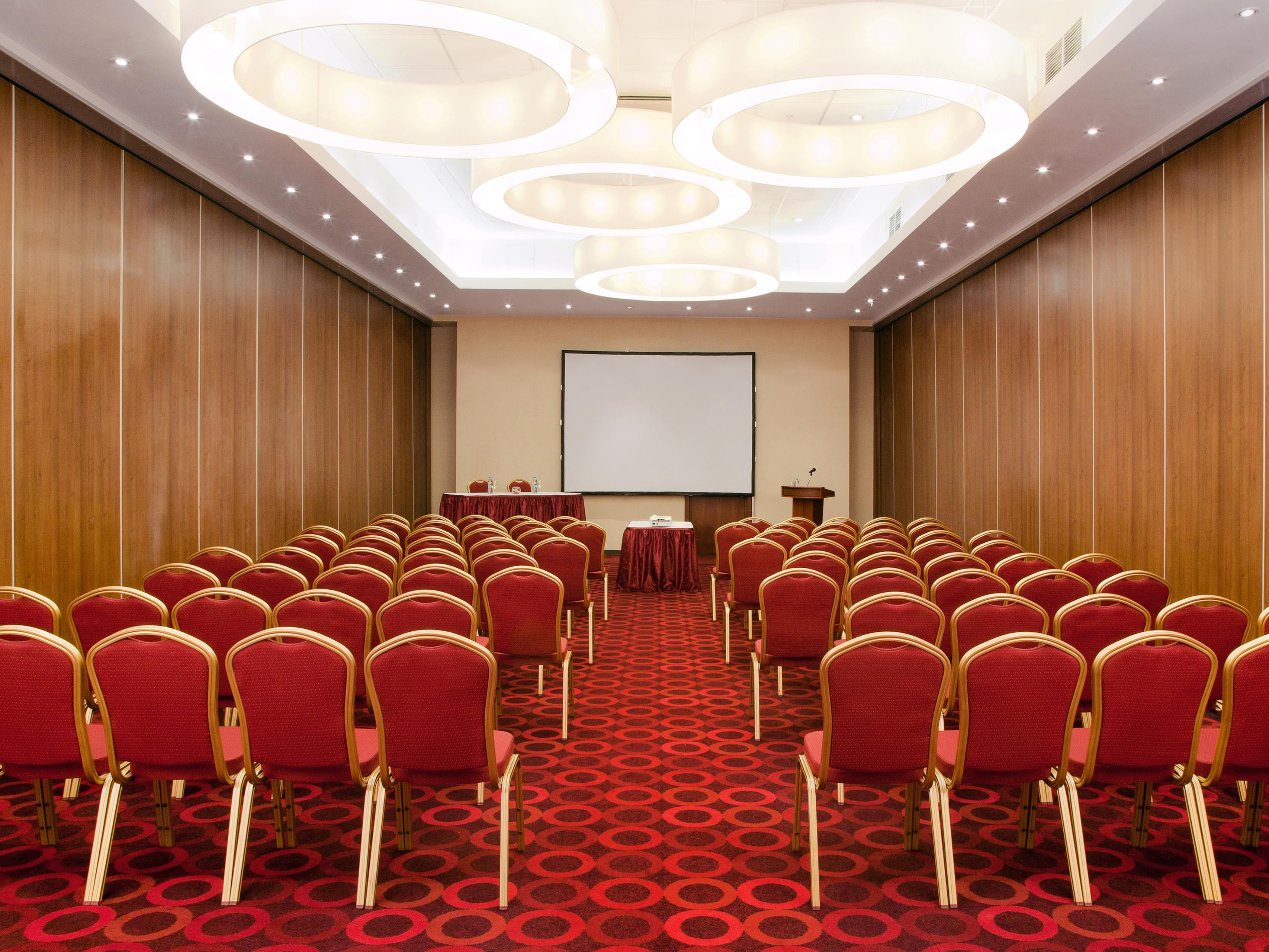 We offer transformable meeting rooms - Grand Ball Room 2
