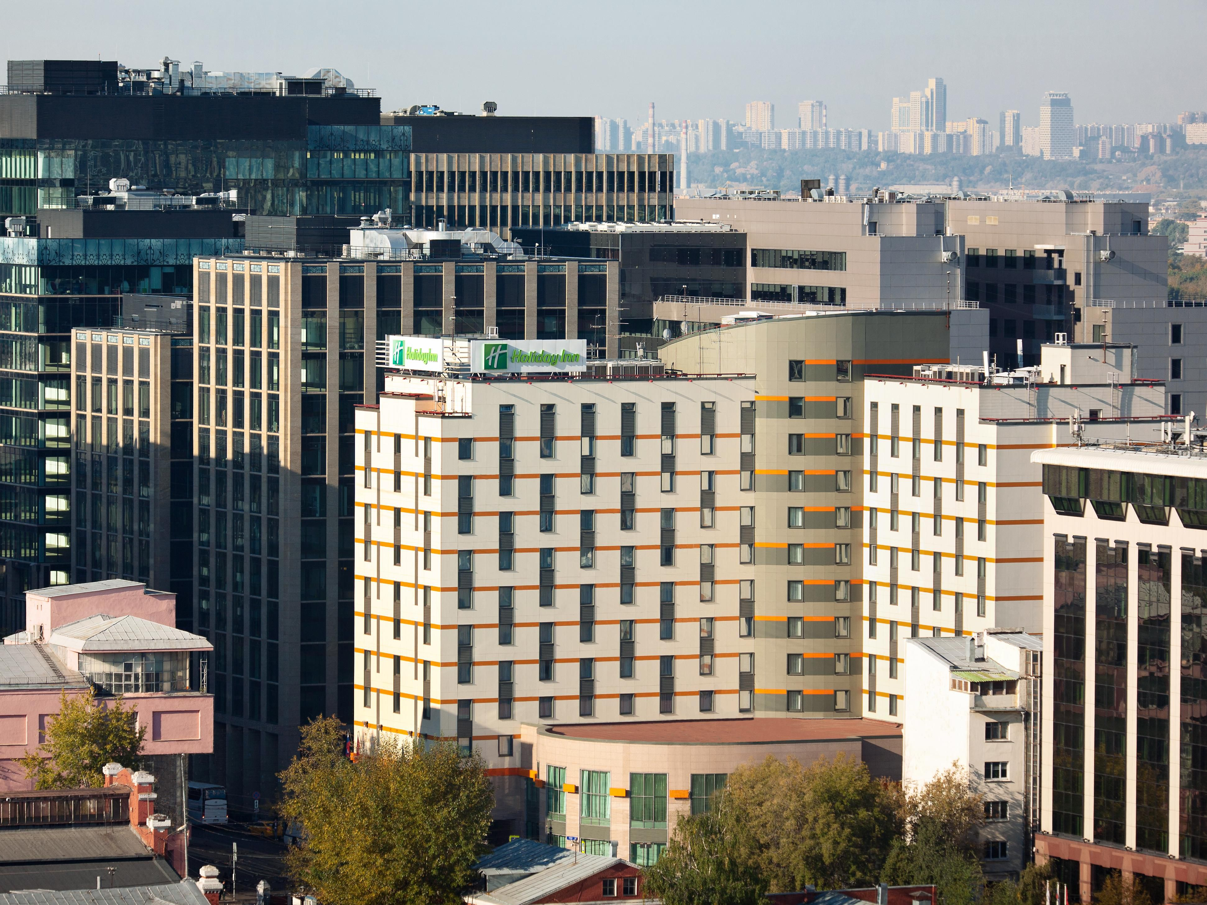 Enjoy a bird's-eye view of Holiday Inn Moscow Lesnaya