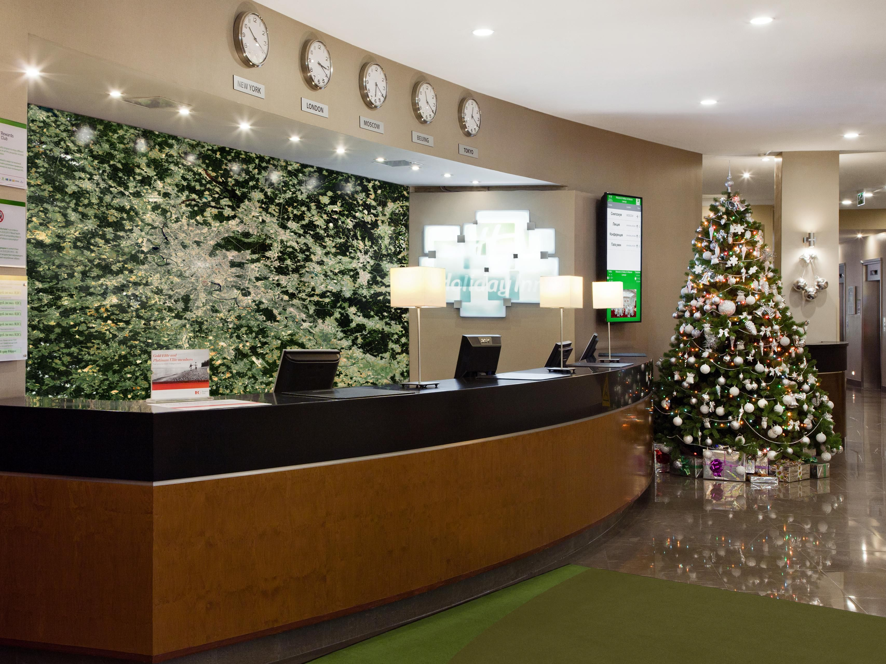 Front Desk Chrıstmas Tree 2015