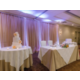 Cake & Head Table set up