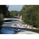 Tourismus Munich - Romantic place at river ISAR.