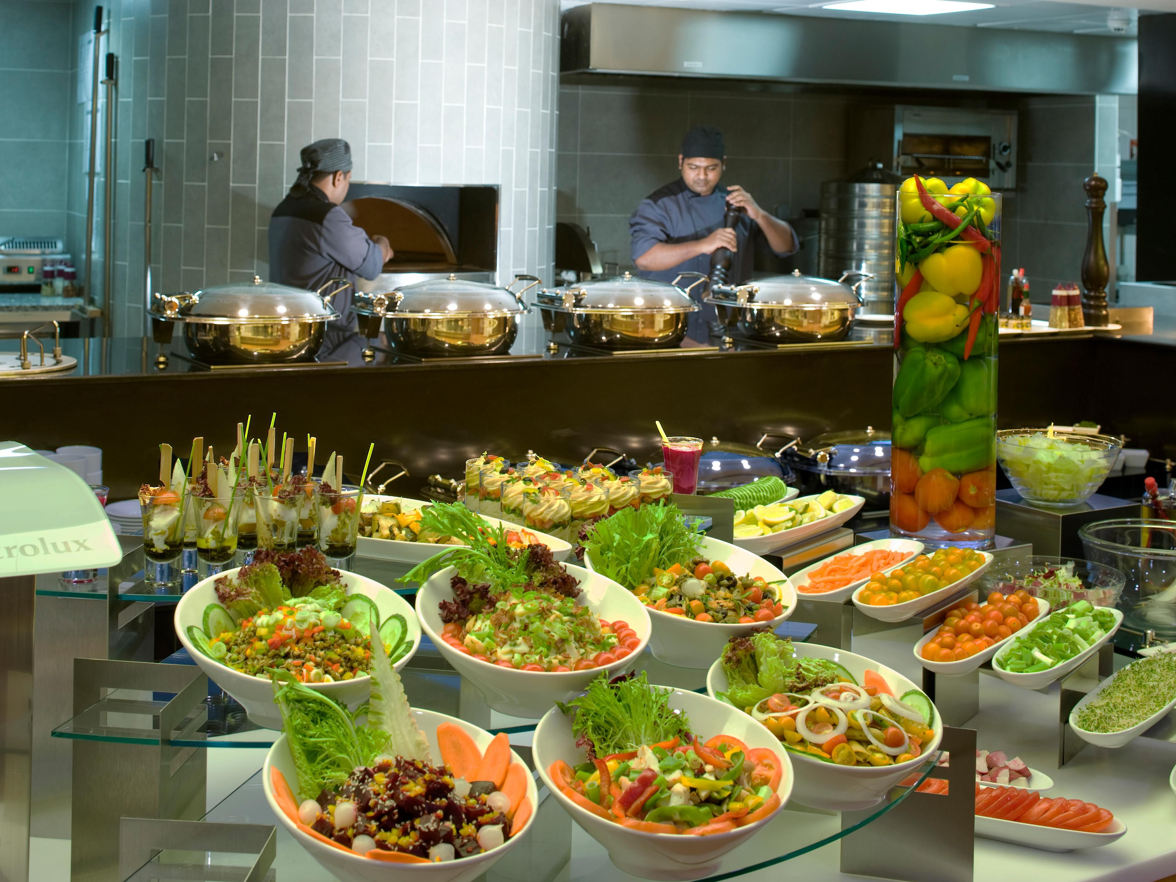 Stay Tempted - with Lunch and Dinner Buffet at Omede