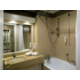 Bathroom with bathtub and wallshower