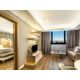 Executive Suite with living room and king size bedroom