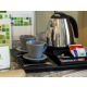 Take advantage of our tea and coffee making facilities