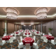 Grand Ballroom Red Round Table