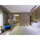 Executive suite bedroom.