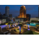 Spectacular Night Skyline from Heated Rooftop Pool