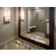 ADA Guest Bathroom with Roll In Shower