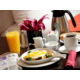Start your day with room service open at 6:00am
