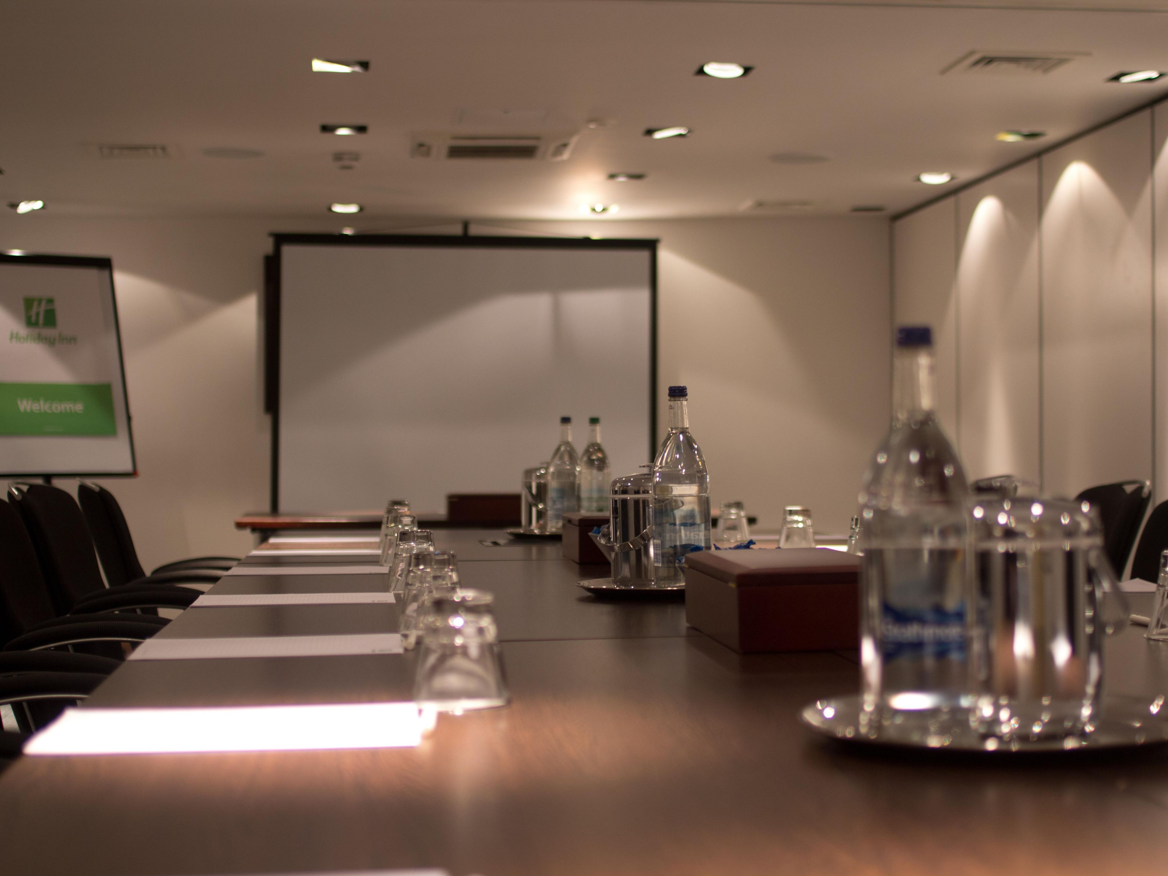 Boardroom Style Meeting Room at the Holiday Inn Newcastle Jesmond