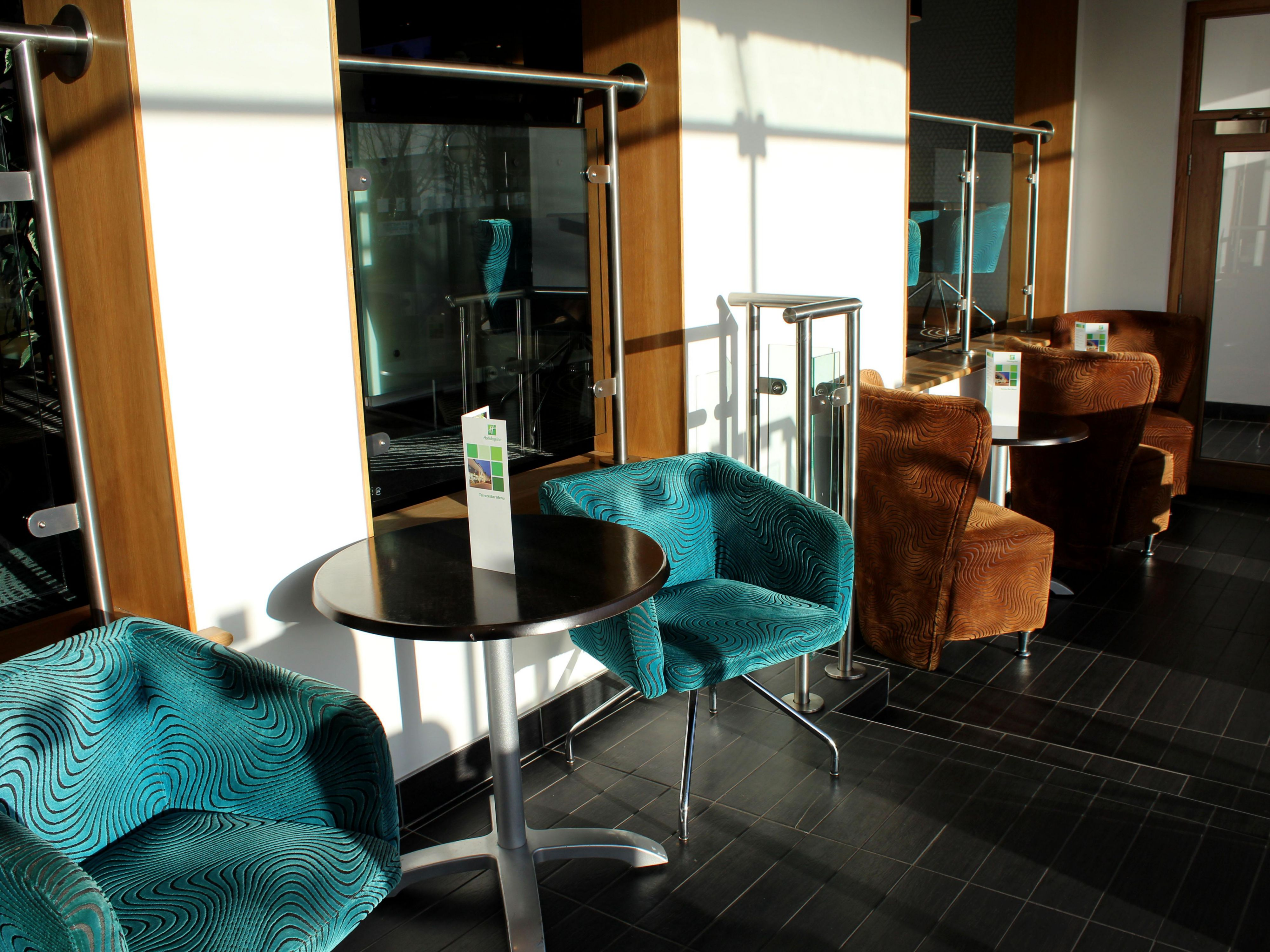 Guest Lounge at the Holiday Inn Newcastle Jesmond