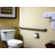 Two queen bed handicap toilet and amenities