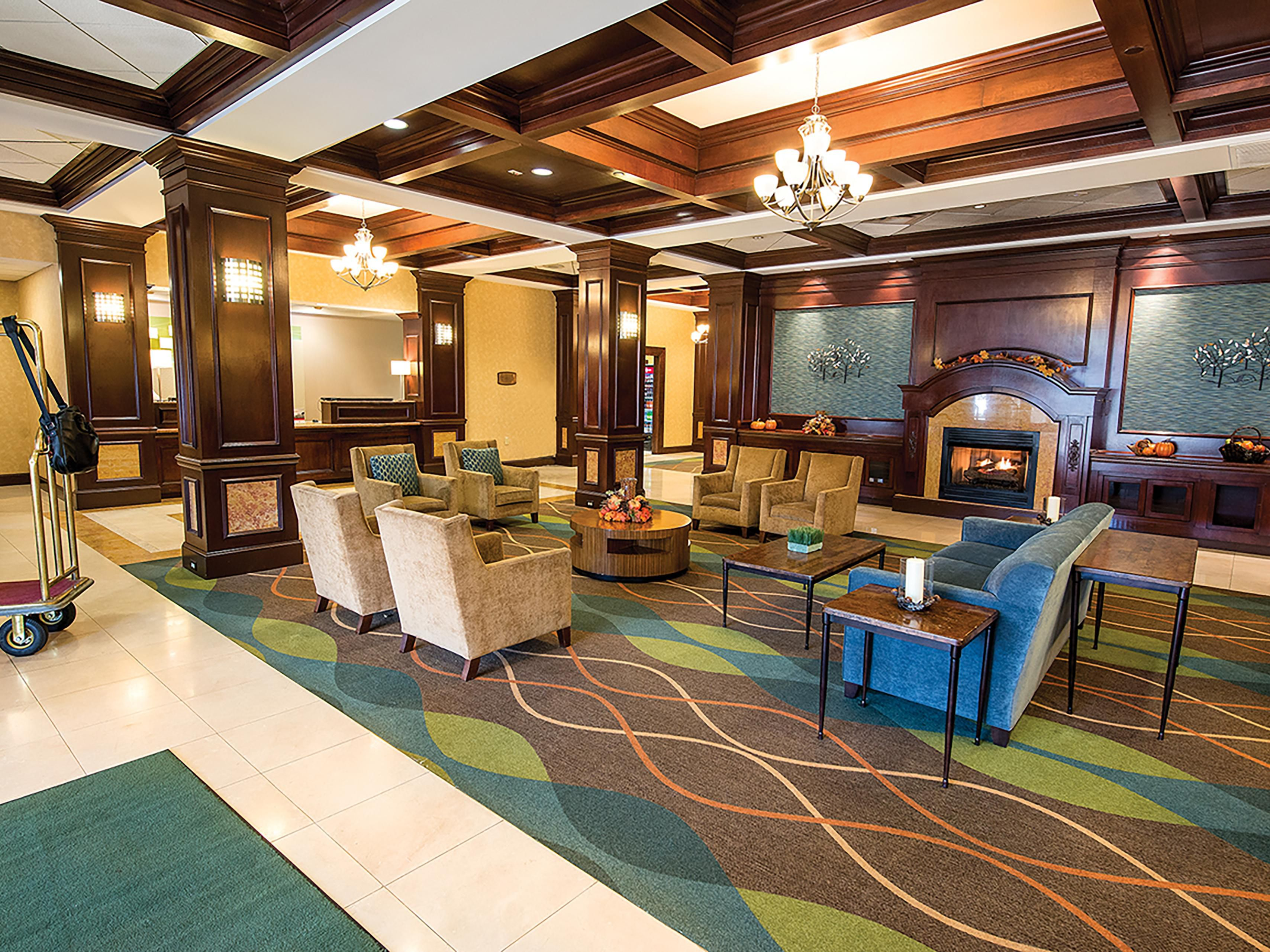 Spacious Lobby for casual gatherings