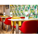 Enjoy a selection of breakfast in our vibrant breakfast area