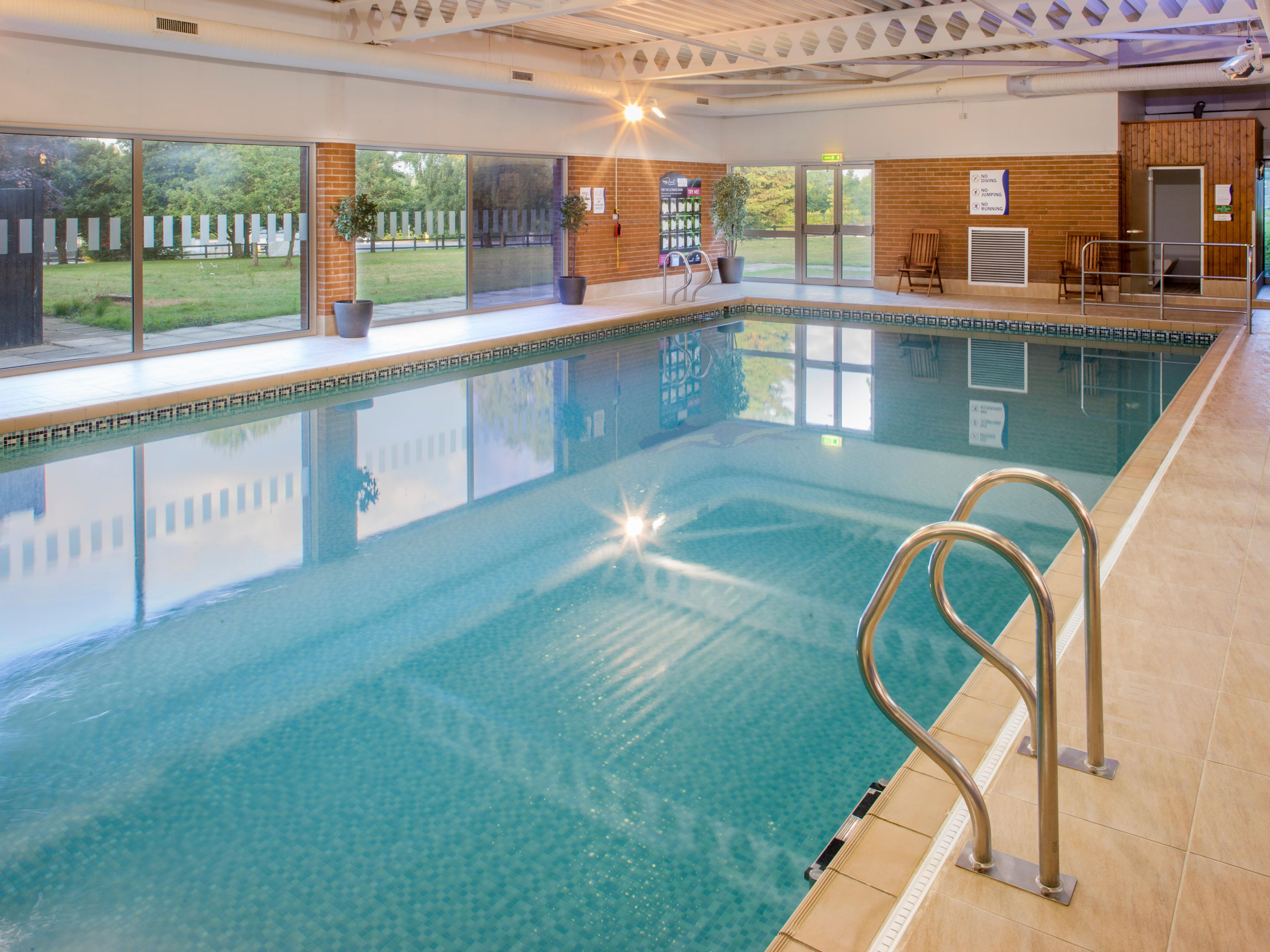Enjoy a dip in our heated pool