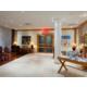 Cosy hotel lobby