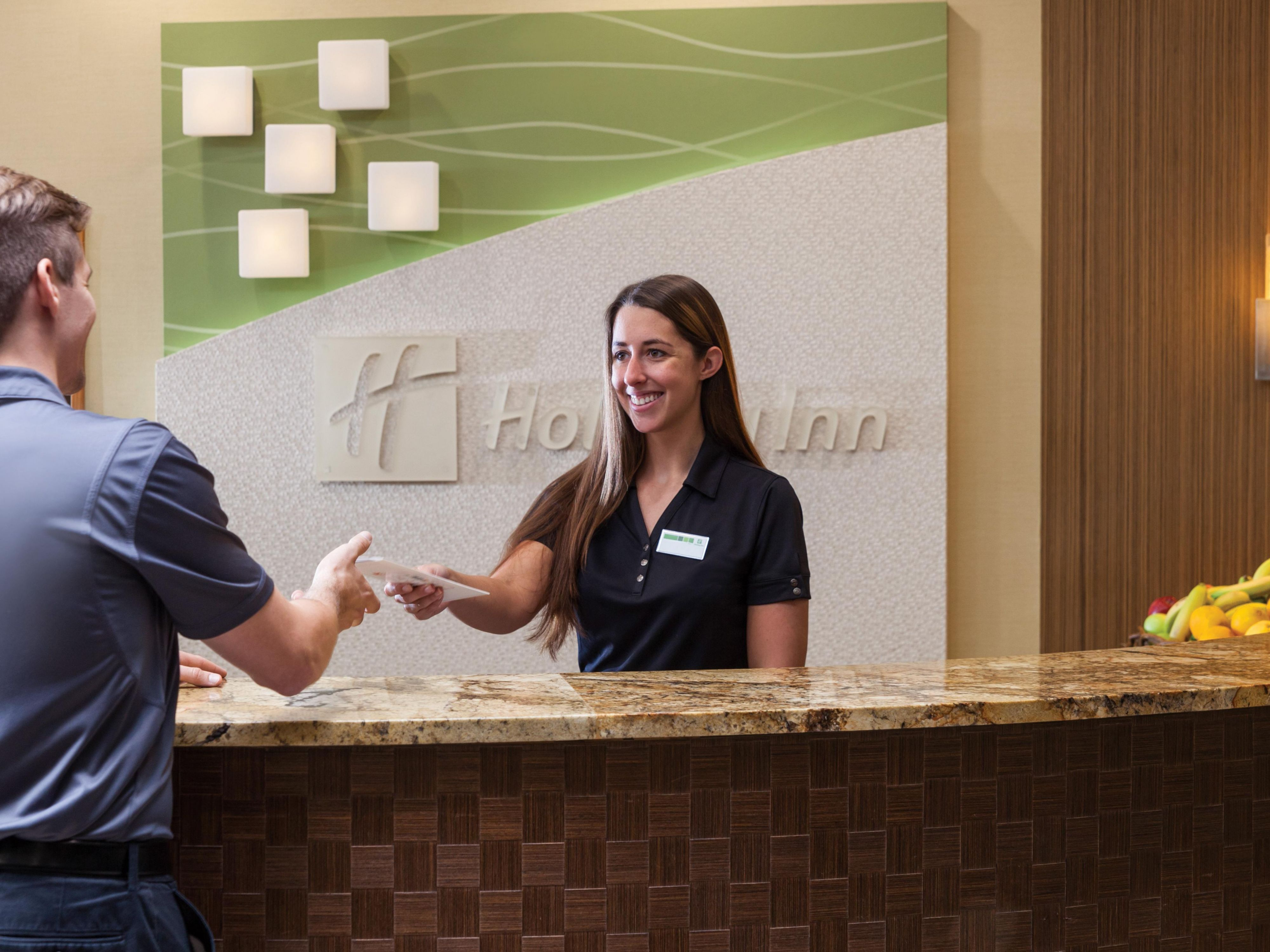 Youll always feel welcome at the Holiday Inn Oceanfront.