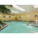 Our heated indoor pool with 2 hot tubs and a children's pool