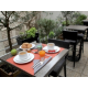 Enjoy a breakfast on the terrace
