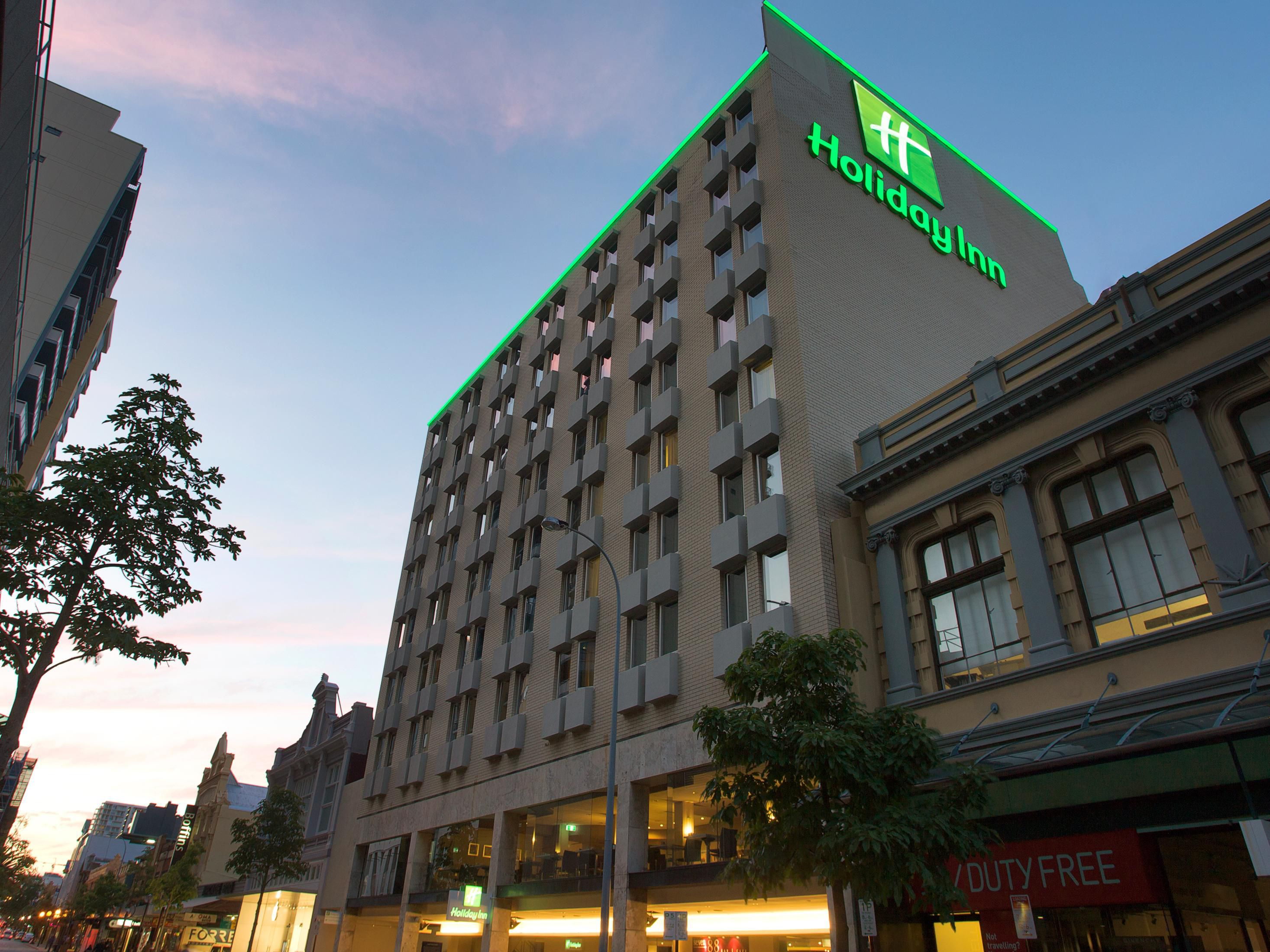 Holiday Inn Perth City Centre in the heart of Perth CBD