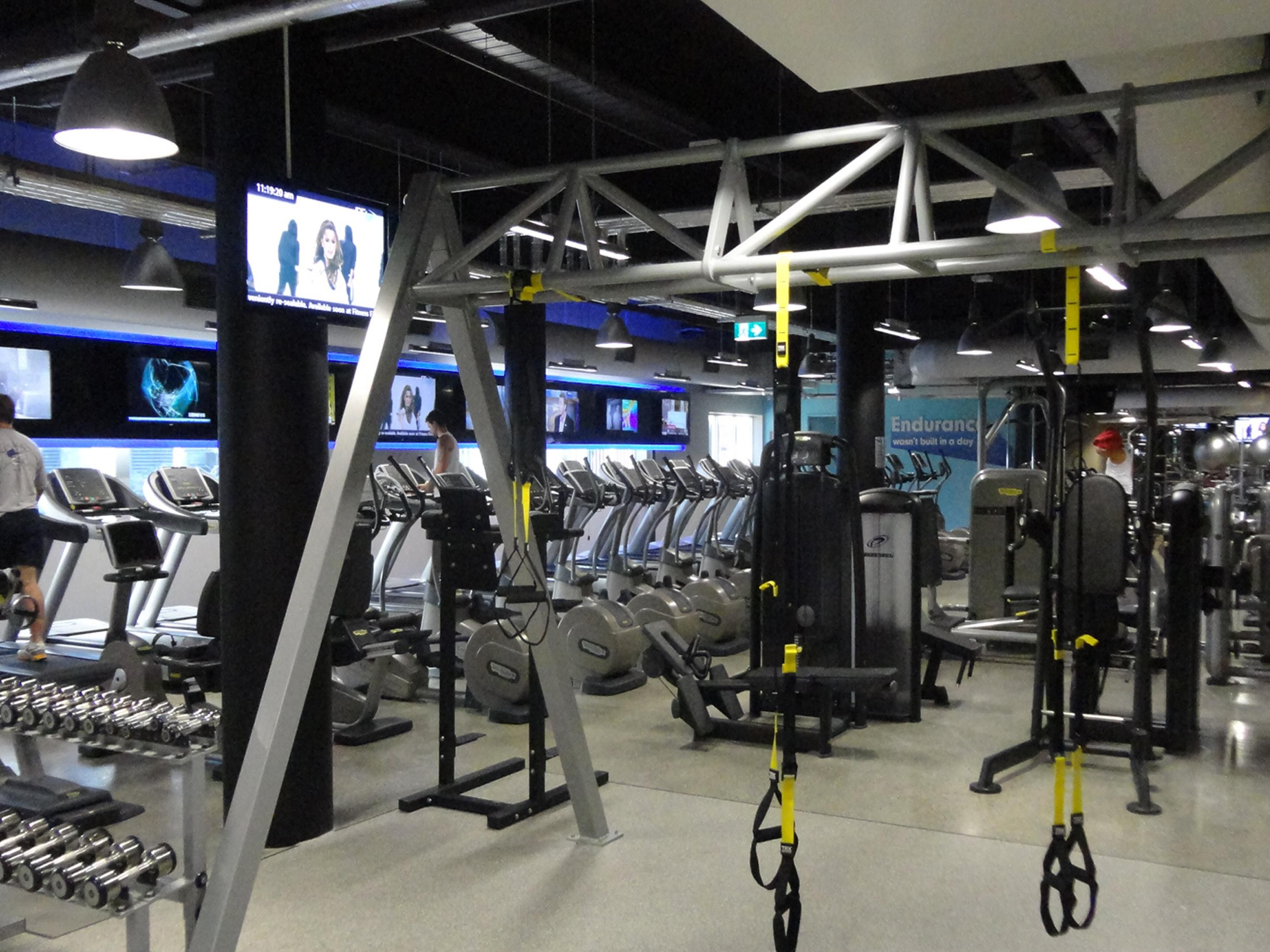 Complimentary guest entry to Goodlife Health Club