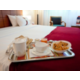 Your breakfast in your room from 7.30am to 12pm on weekend