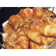 French croissant on breakfast buffet