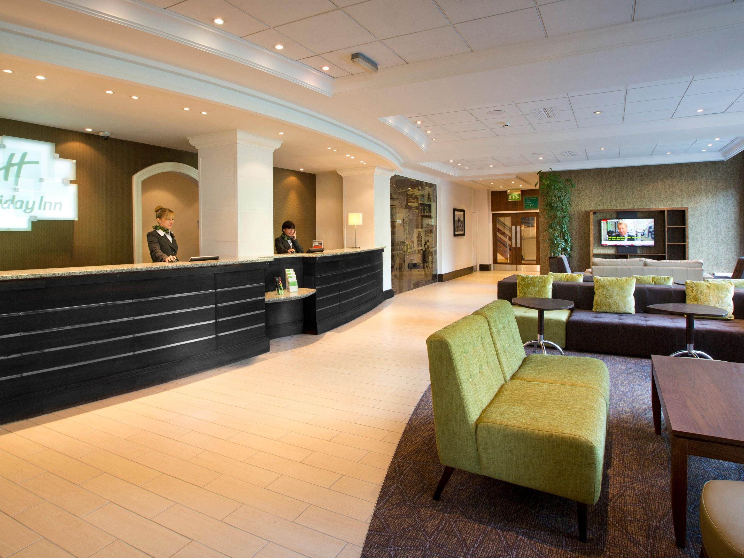 Reception at the Holiday Inn Peterborough West