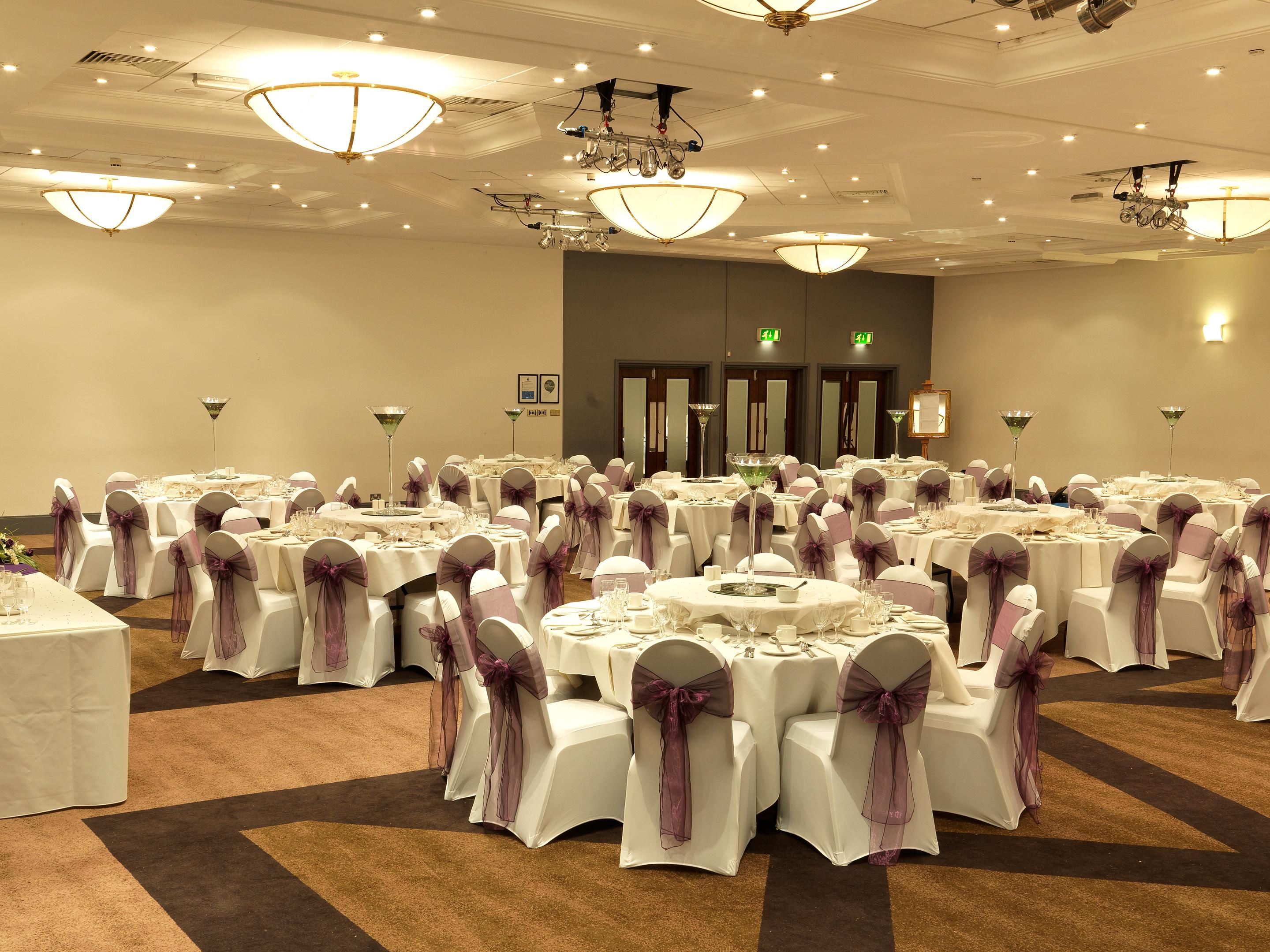 Banqueting at the Holiday Inn Peterborough West