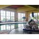 Hang out poolside at the Holiday Inn Pewaukee Milwaukee West
