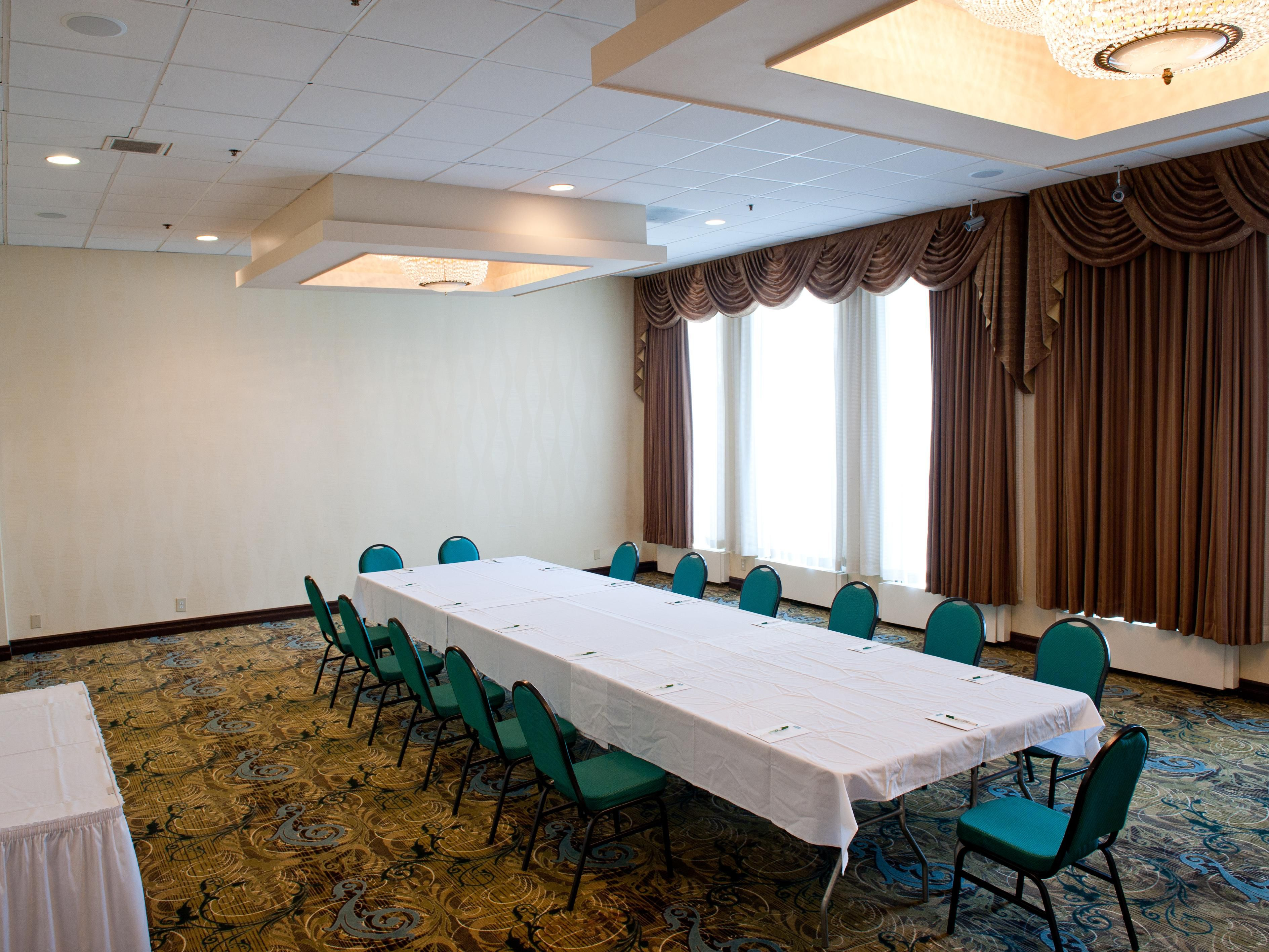 Meeting Room with conference set up