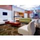Inviting Hotel Lobby at Holiday Inn Philadelphia Stadium