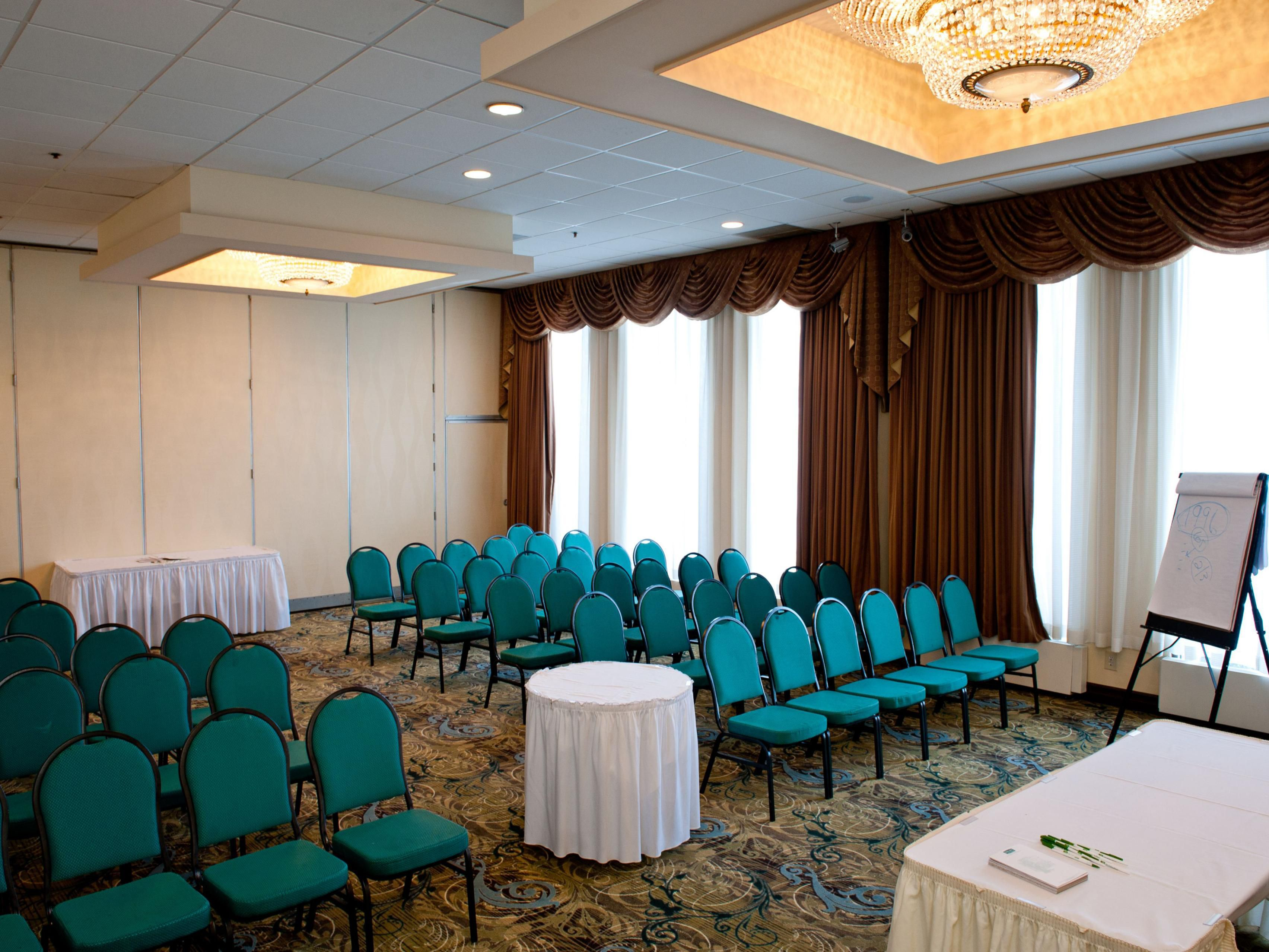 Meeting Room with theater style set up