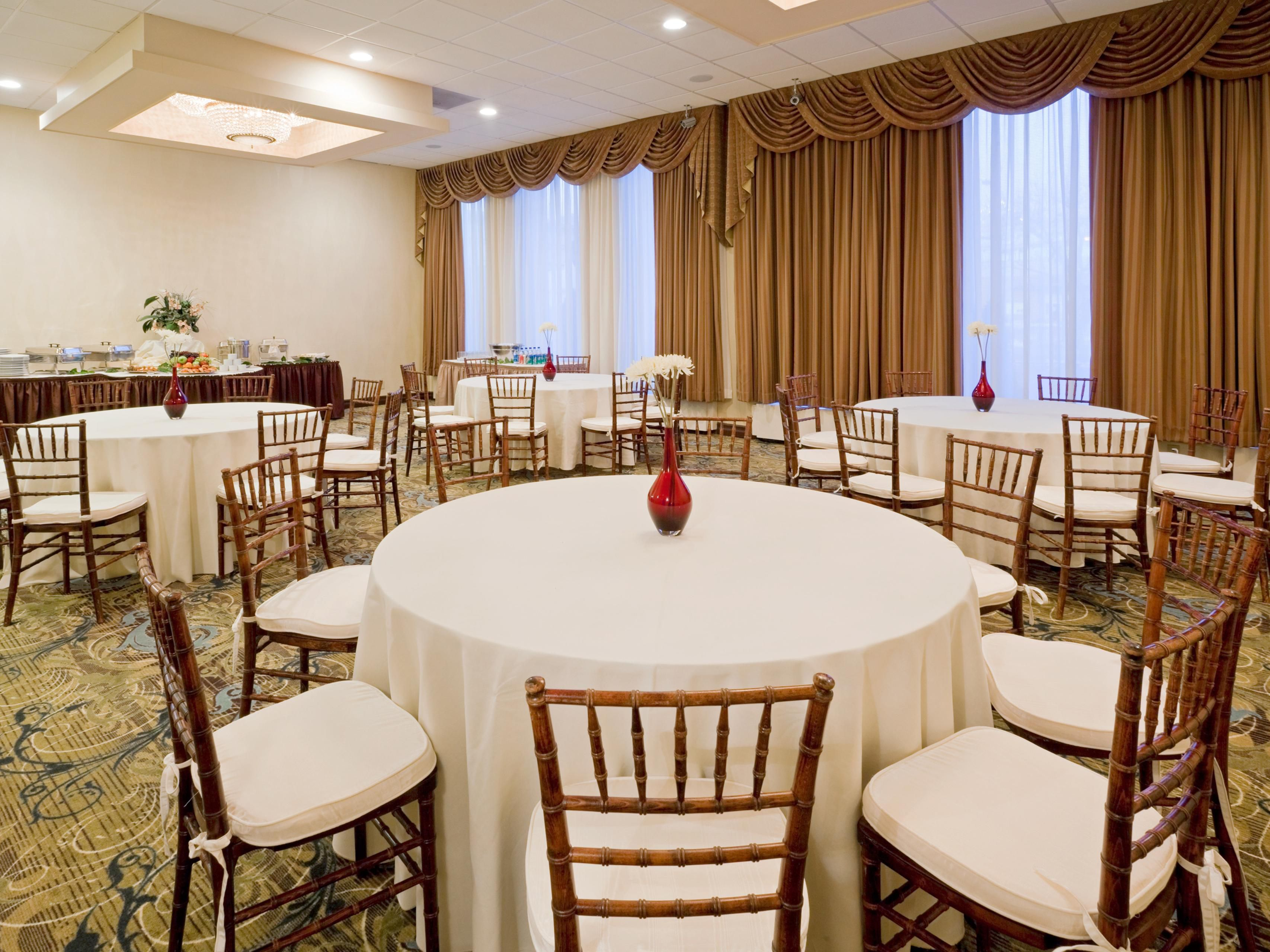 Banquet Room for your next social event