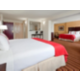 Fantastic Room facing the City Skyline Two Queen Beds plus 1 King