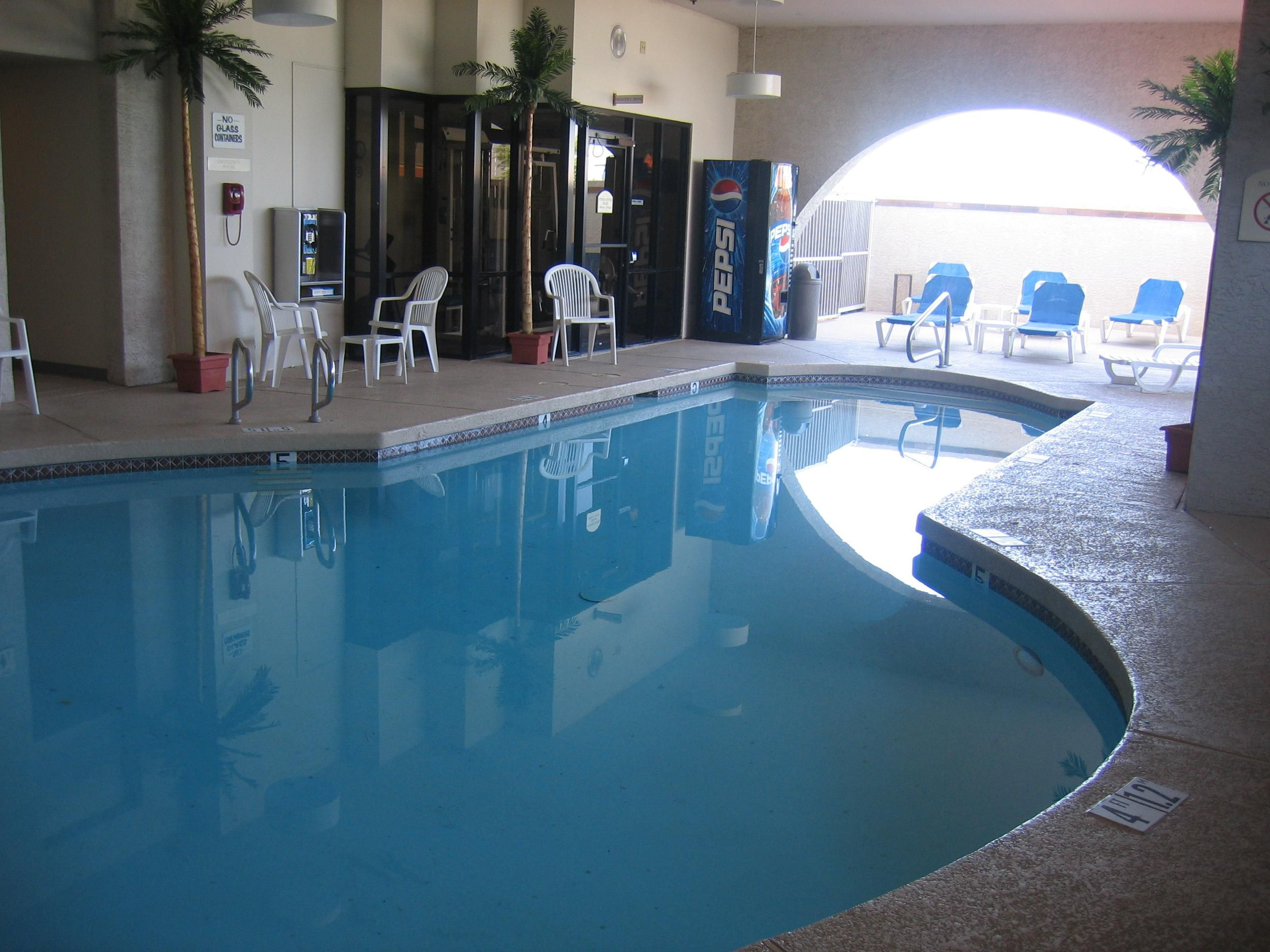 Year Round heated covered outdoor pool