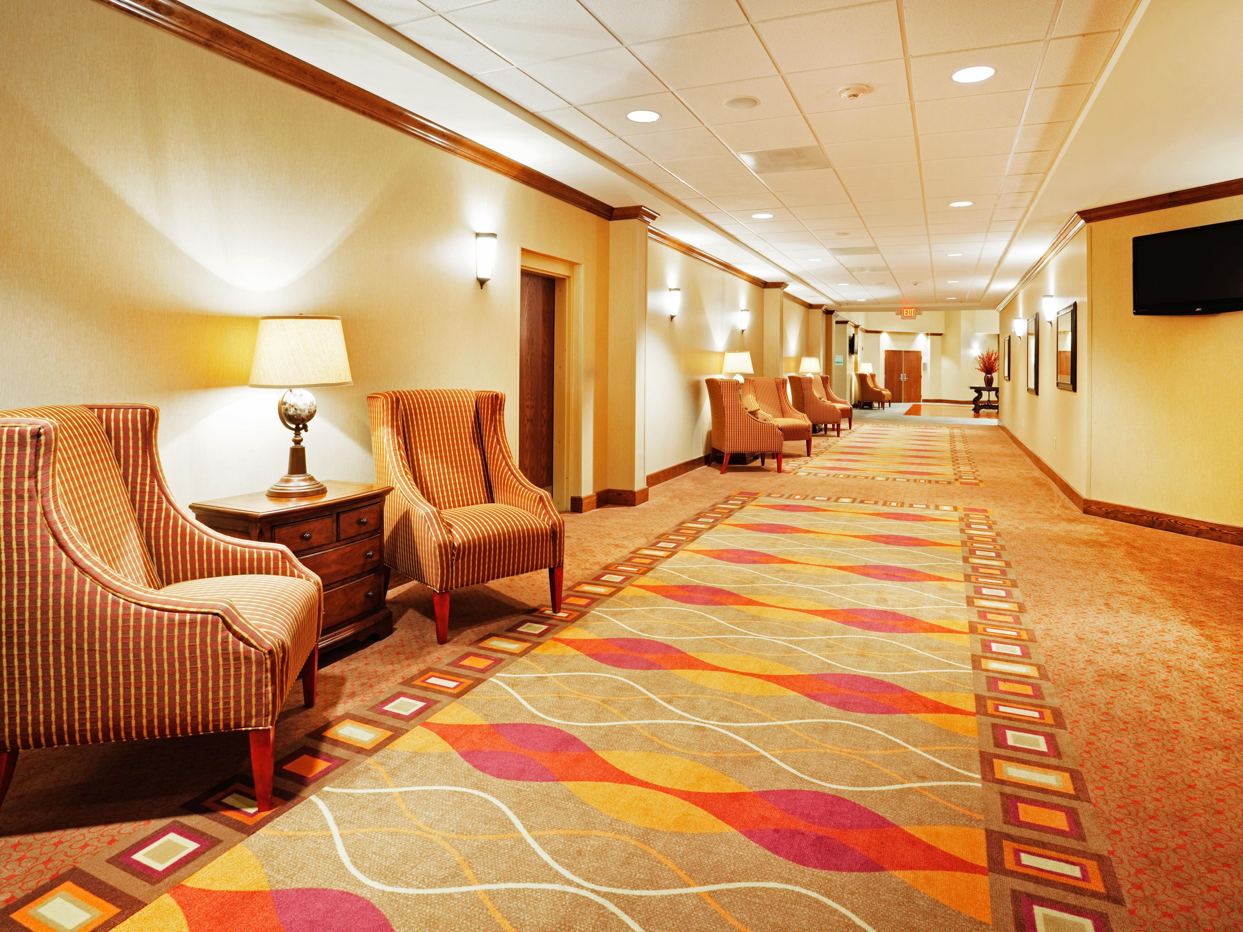 Spacious Pre-function areas accessed from hotel lobby