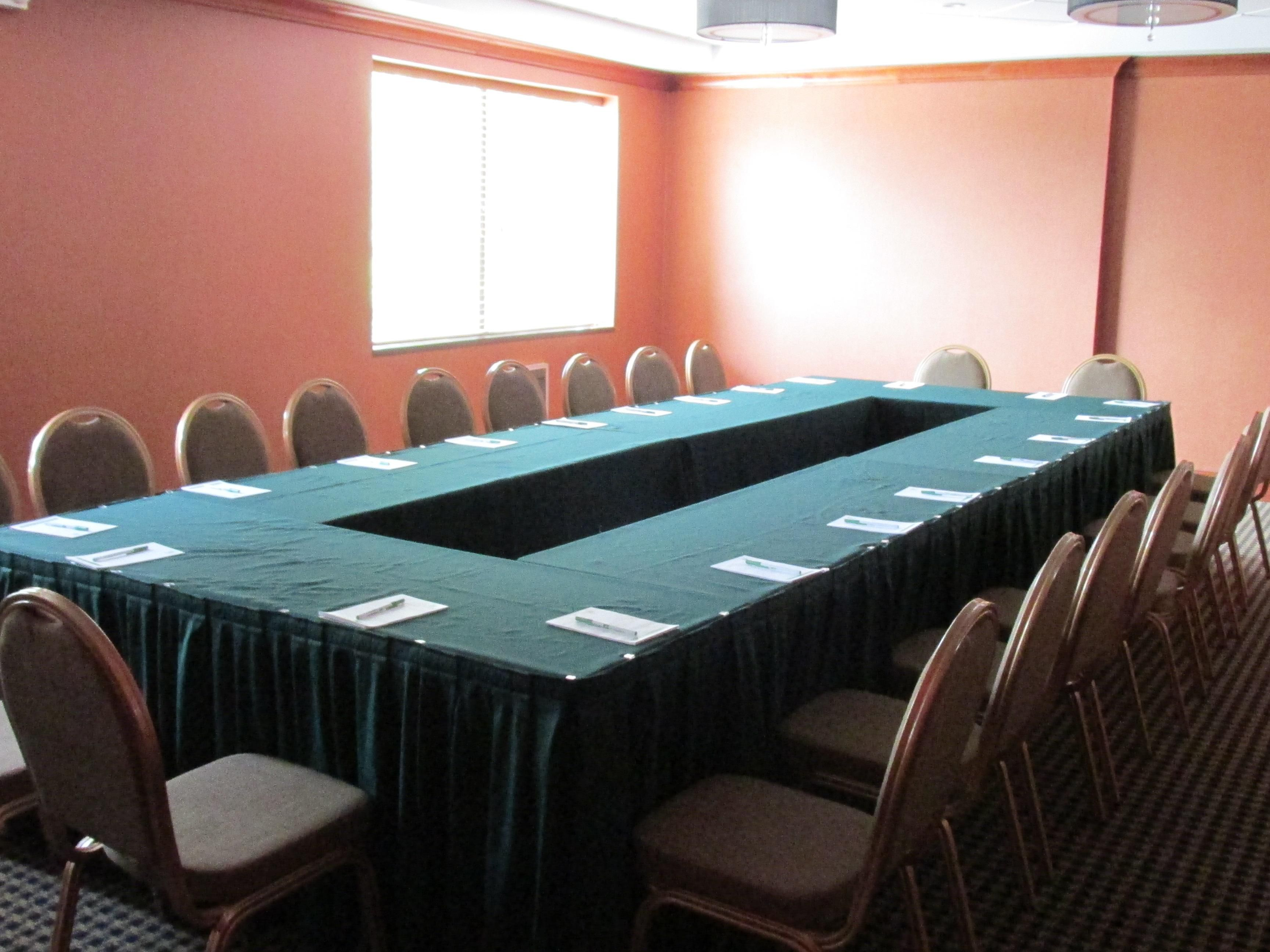 Conference Room - Square Set Up