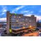 Holiday Inn Preston as the sun sets