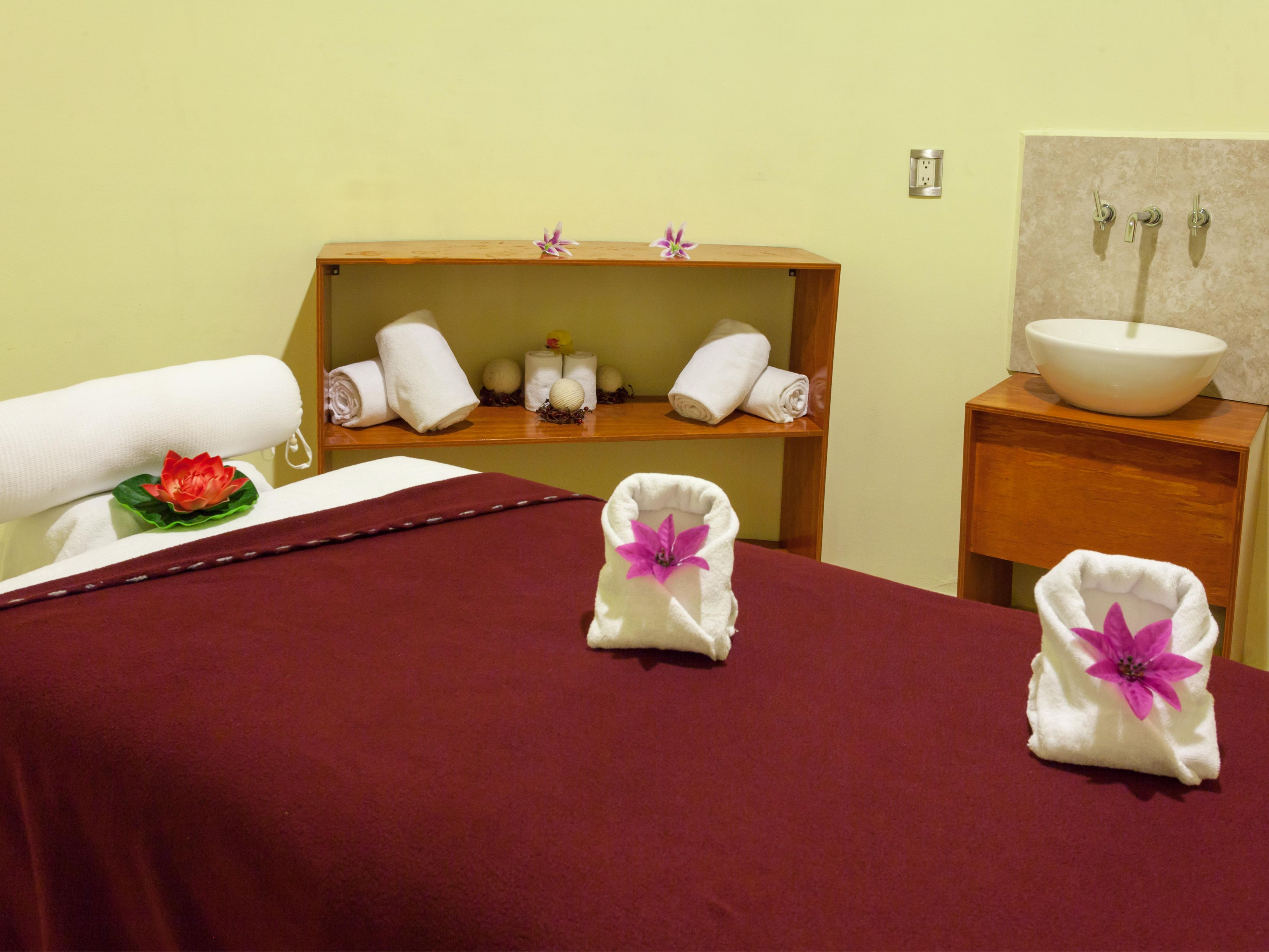 Rejuvenate at our European day spa