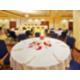 The Holiday Inn Full Ballroom in Wedding Reception Layout.