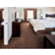 Our King Suite with living room and separate bedroom.