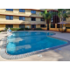 Holiday Inn Rancho's outdoor swimming pool