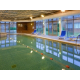 Guests can enjoy our indoor swimming pool.