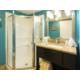 Standard Guest Bathroom Ocean View Room Vanity and Shower