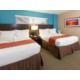 Ocean Front Double Queen Suite Bedroom