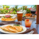 Trio of Lunch Entrees Served on our Ocean Front Deck
