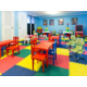 Children's Activity Center features whimsical decor