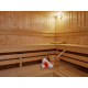 Rejuvenate your body and mind at our modern sauna room